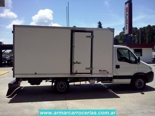 carroceria furgon carnicero  5 mts directo de fabrica armar