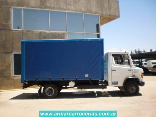 carroceria furgon sider    5 mts directo de fabrica armar
