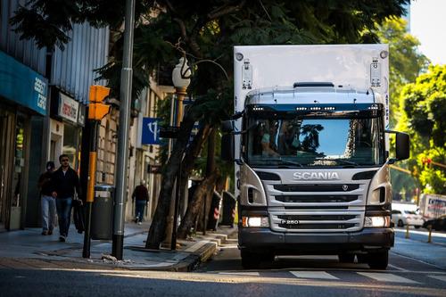 carrocería furgón térmica congelado 6,50  anticipo 2018