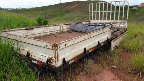 carroceria jardel para caminhão toco l munck   carroceria