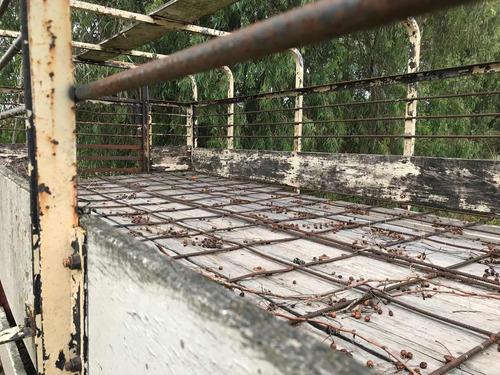 carrocería jaula, doble piso para porcinos