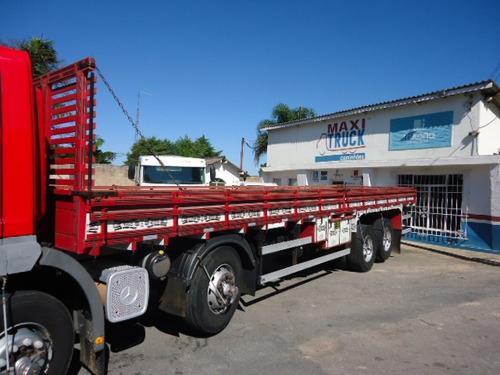 carroceria madeira 10,00 mts, semi nova. mb / ford / iveco