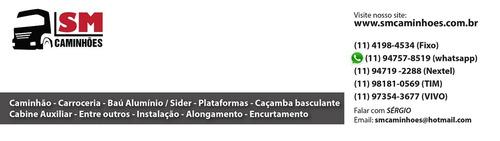 carroceria madeira 4,20m iveco vertis mb 608