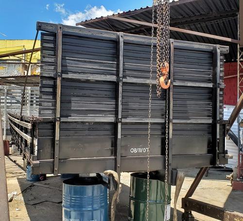 carroceria madeira 7m toco