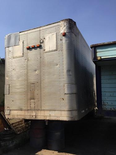 carrocería paquetera de aluminio - usada digna  de ver
