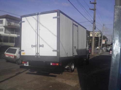 carrocería paquetera nueva para camiones ¡chapa prepintada!