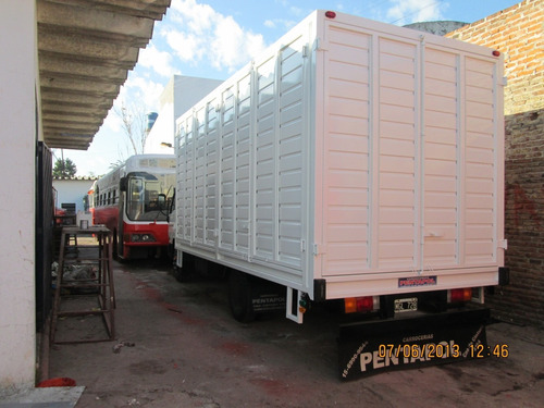 carroceria paquetera p accelo, iveco, scania, ford, mercedes