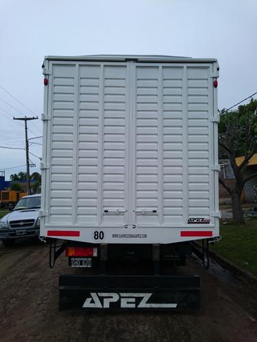 carrocería paqueteras sider con lona fabricación a media