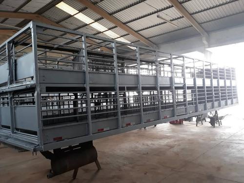 carroceria para transporte de suínos