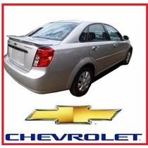 Spoiler Chevrolet Optra Luz Tuercas Tipo Plano Kit Instalaci