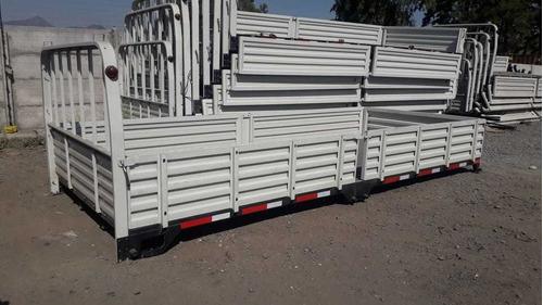 carrocería plana c/b  5.3x2.2x0.50 $ 1100.000,