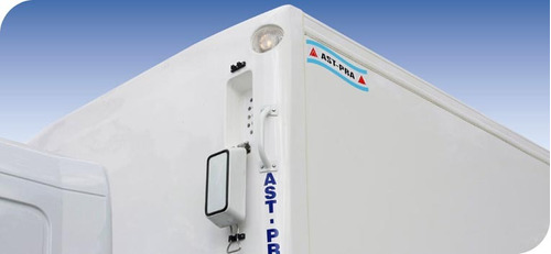 carrocería térmica congelado / carnicero 6,50- 2017 anticipo