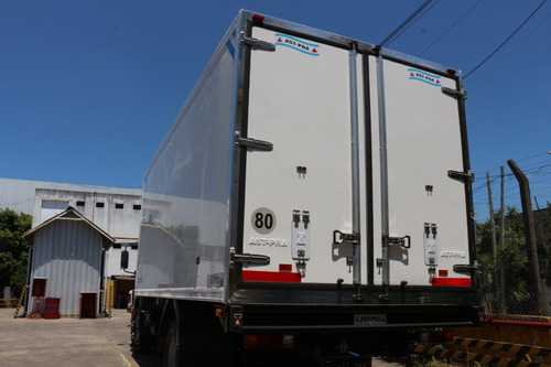 carrocería térmica frp -  6,50 s congelado /anticipo 2018