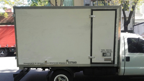 carrocería térmica paquetera 2008