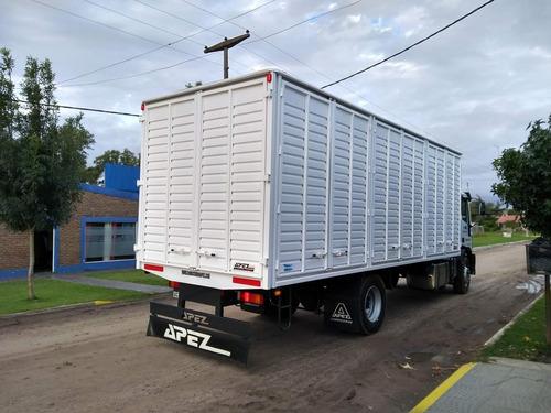 carrocerias cajas camion barandas volcables sider paquetera