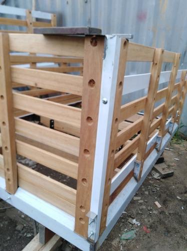 carrocerías  de lujo marco en acero madera en abarcó