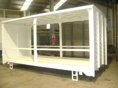 carrocerias sider para 8 pallet -todo puertas