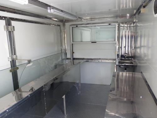 carrocerias termicas, carros para feria en izopanel y acero
