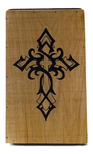 carron cajon acústico percussionline cruz cristã percussão