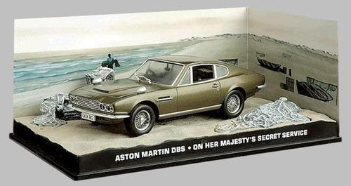 carros 007 - aston martin dbs - serviço secreto - miniatura