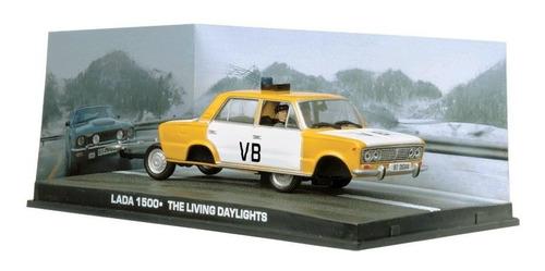 carros 007 - lada 1500 - marcado para a morte - miniatura
