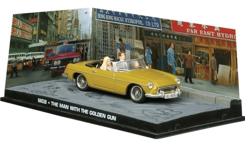carros 007 - mgb - homem com a pistola de ouro - miniatura