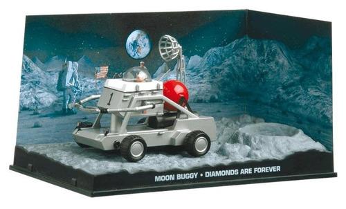carros 007 - moon buggy - diamantes são eternos - miniatura