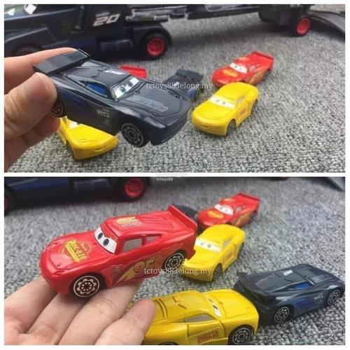 carros 3 caminhão jackson c/ 6 carros+pista garage 41pcs