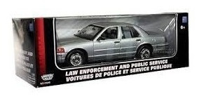carros a escala 1/18 ford crown victoria police interceptor