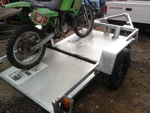 carros arrastre plano galvanizado motos atv,enduro motocross