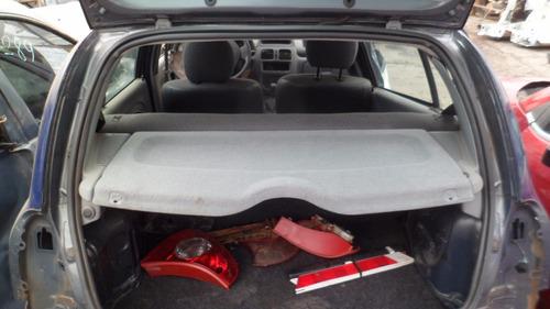 carros batidos renault clio hi-flex 1.0 16v peças usadas
