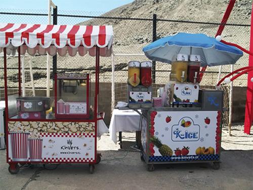 carros cabritas o pop corn algodon de azucar cumpleaños