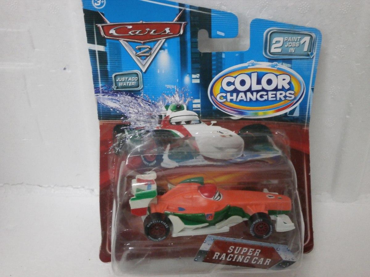 Carros Cars 2 Espectaculares Cambian De Color Con El Agua Bs 0