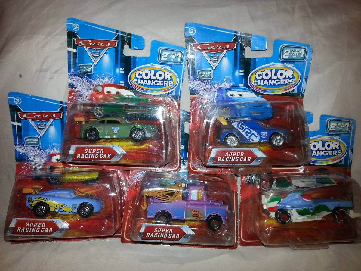 Carros Cars Mcqueen Raoul Nigel Cambia Color Modatoys Bs 68 00 En