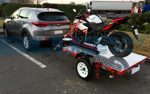 carros de arrastre plegable motocicleta, carro moto, nuevos