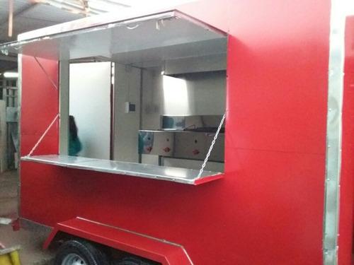 carros de arrastre tipo foodtruck venta de comida