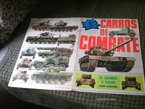 carros de combate album de figurinhas importado e completo !