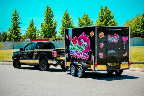 carros de comida profesionales - foodtruck lara&go