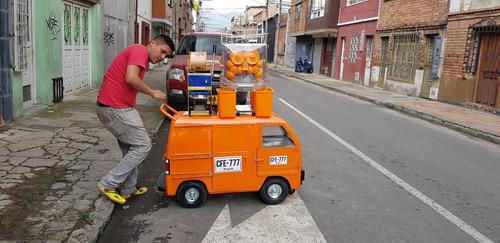 carros de comidas rapidas - cafe - alquiler