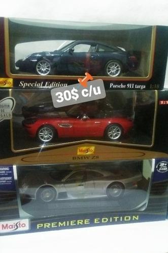 carros escala 1/18 ** nuevos*** precio x cada uno***