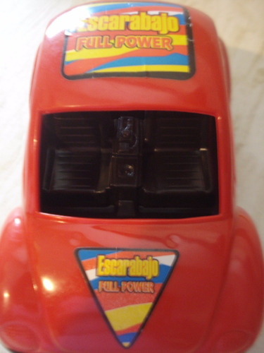 carros escarabajo tipo volkswagen de plástico para niños