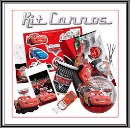 carros festa infantil - kit festa temática carros [08 pessoa