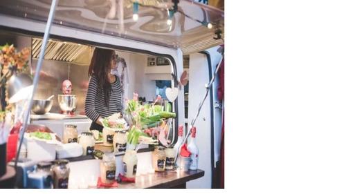 carros food truck listos para trabajar