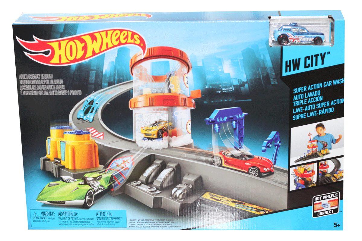 Hot wheels t nel de lavado carros pistas ni os juguetes - Cars en juguetes ...