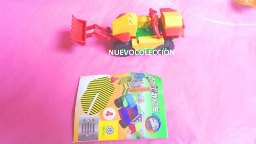 carros maquinaria armables miniatura