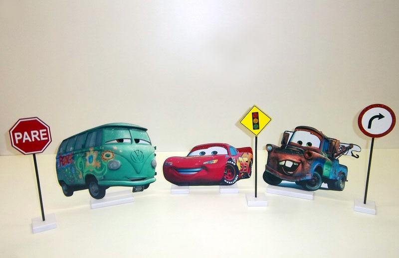 Carros Mcqueen Display Decoracao Menino Festa Centro Mesa R 143