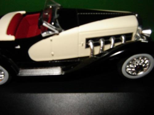 carros miniatura embalagem rachada duesenberg ssj 1933  1/43