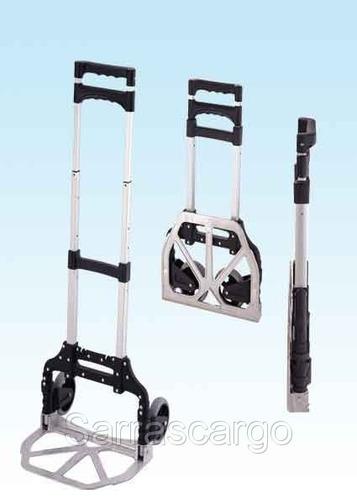 carros para transporte manual de carga - aluminio - 60 kilos