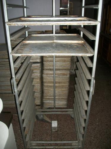 carros portabandejas panaderia, nuevos y usados, 36 bandejas