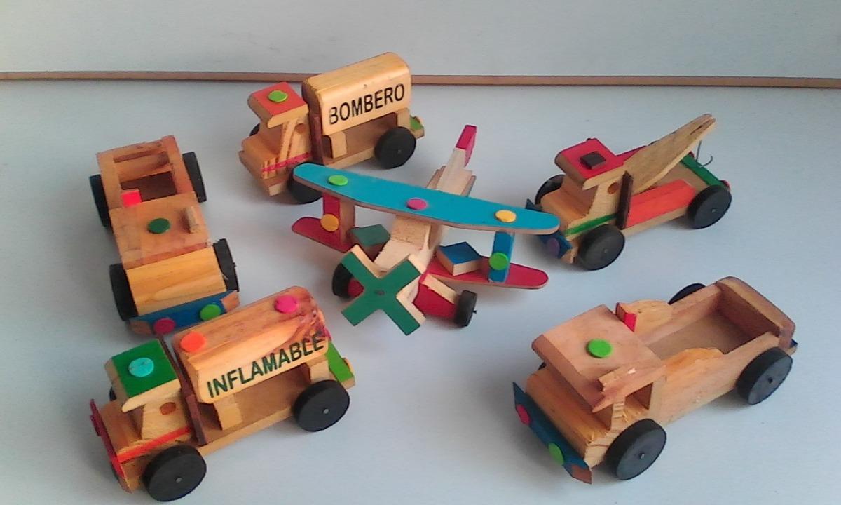 Carros y caballitos de madera colecci n para ni os for Carritos de cocina de madera